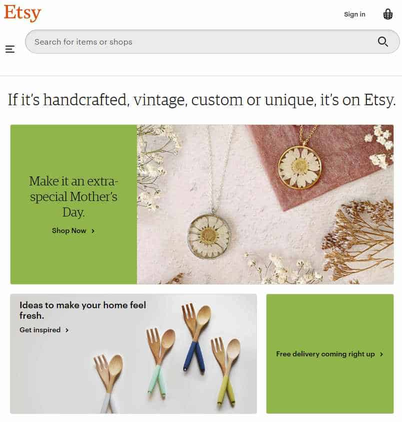 be your own boss selling on etsy
