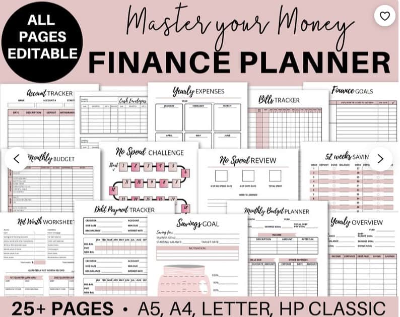 best budget planners for beginners #2 master your money