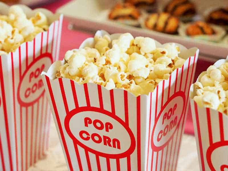 cheap foods that keep you full - popcorn