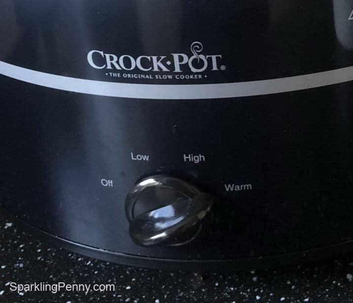 how to use a slow cooker to keep food warm - warm mode on crock pot