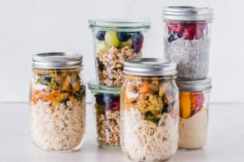 is it safe to meal prep rice