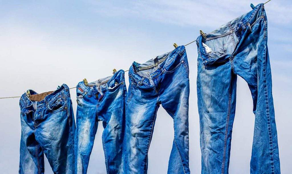 how to dry jeans without a dryer