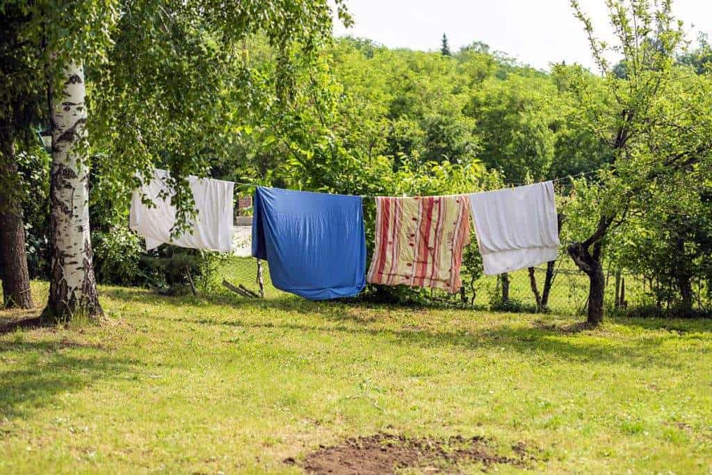 drying towels without a dryer