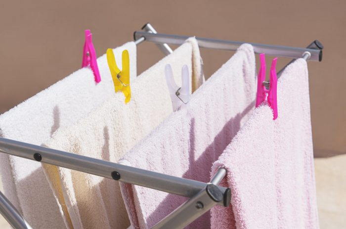 how to dry towels without a dryer