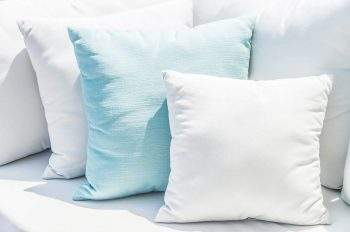 how to plump up scatter cushions