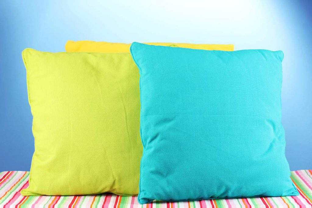 how to hand wash cushions with no zip
