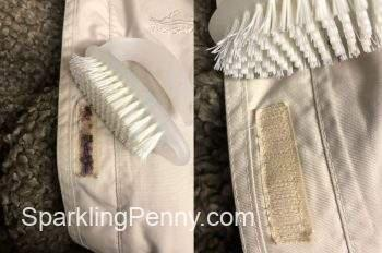 cleaning velcro hack
